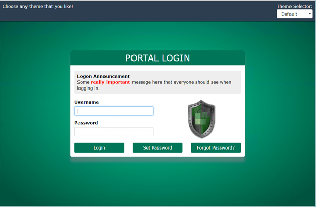 Benefits of Announcements on the Login Page